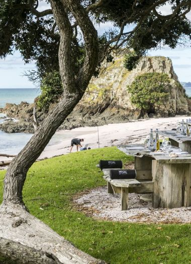 Pink Beach BBQ | Robertson Lodges